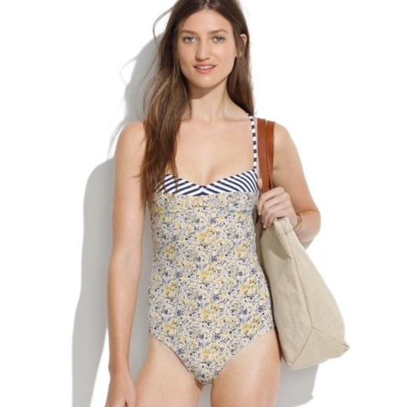 b75fcd6a7efa5 Madewell Swim | Size 8 One Piece Bathing Suit Tank Suit | Poshmark